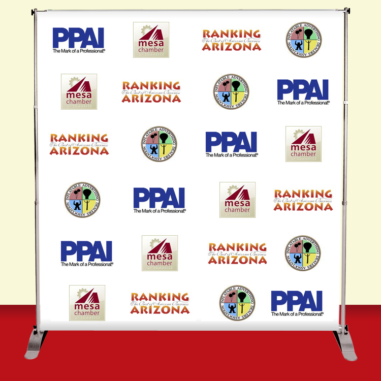 8x8 backdrop banner stand step and repeat banner firefly graphics. Black Bedroom Furniture Sets. Home Design Ideas
